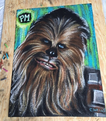 Chewbacca Peter Mayhew Art