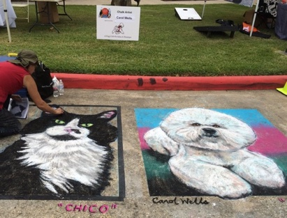 Creekfest Houston Chalk