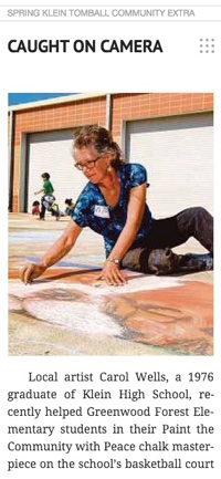 Carol Wells Chalk Art